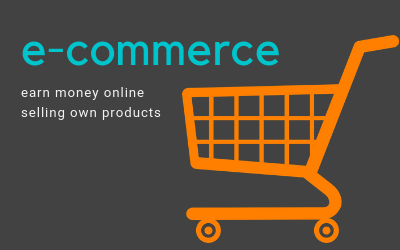 sell own products at marketplaces to earn money online