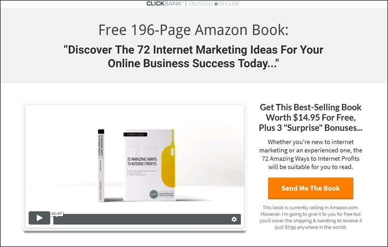 CB Passive Income 5.0 Book Funnel