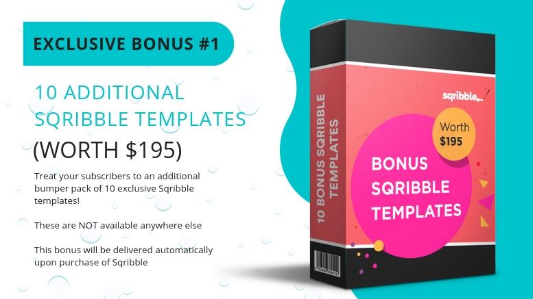 Sqribble Launch Exclusive Bonus #1