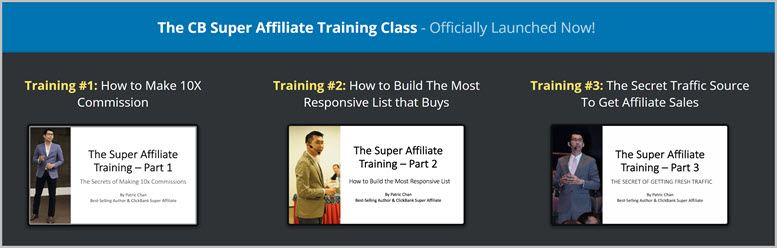 CB Super Affiliate Training FREE by Patric Chan
