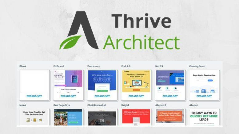 Thrive Architect product review featured image