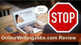 Online Writing Jobs product review featured image inside ClickWebSuccess