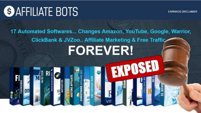 Affiliate Bots Review Featured Image inside ClickWebSuccess website
