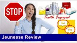 Jeunesse product review featured image inside ClickWebSuccess website