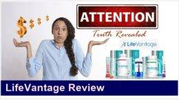 LifeVantage Product Review Feature Image Inside ClickWebSuccess website