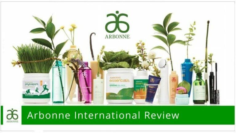 Various health products of Arbonne International